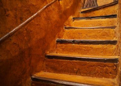 Escaleras acceso Tour